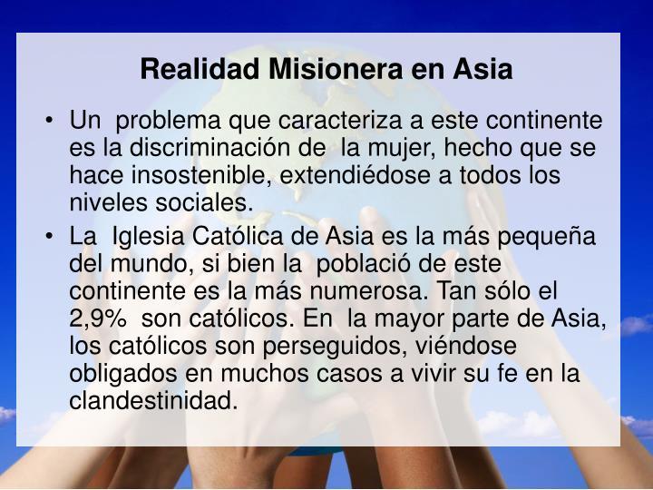 Realidad Misionera en Asia