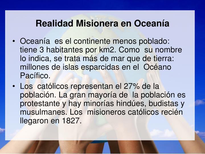 Realidad Misionera en Ocean