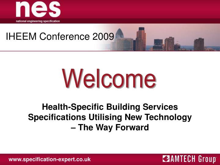 IHEEM Conference 2009