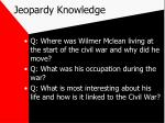 jeopardy knowledge