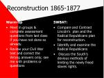 reconstruction 1865 1877
