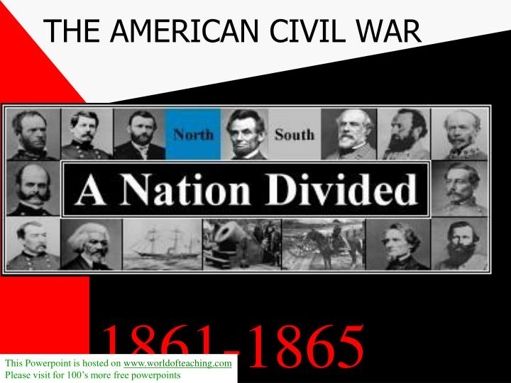 the american civil war n.