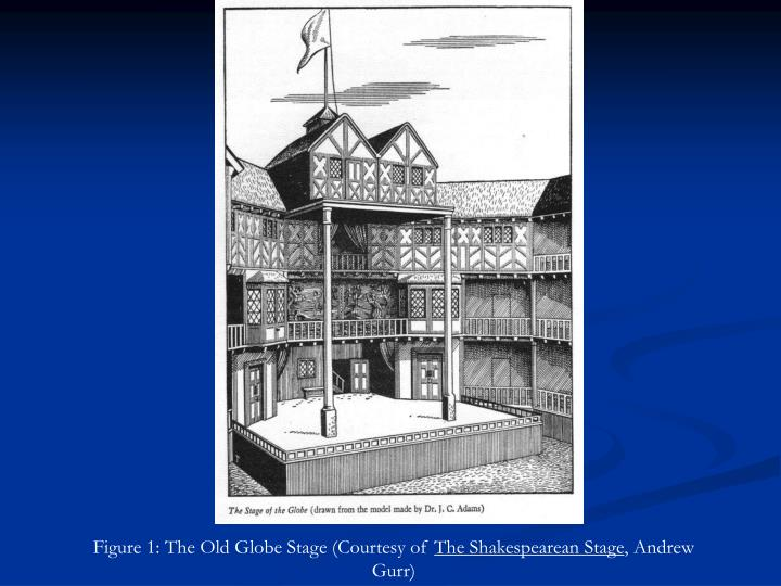 Figure 1: The Old Globe Stage (Courtesy of