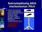 sz rnylap tsz g ll t mechanizmus pitch3