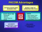 pacom advantages