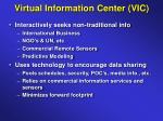 virtual information center vic1