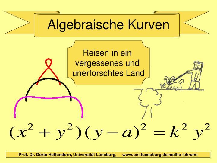 Algebraische kurven