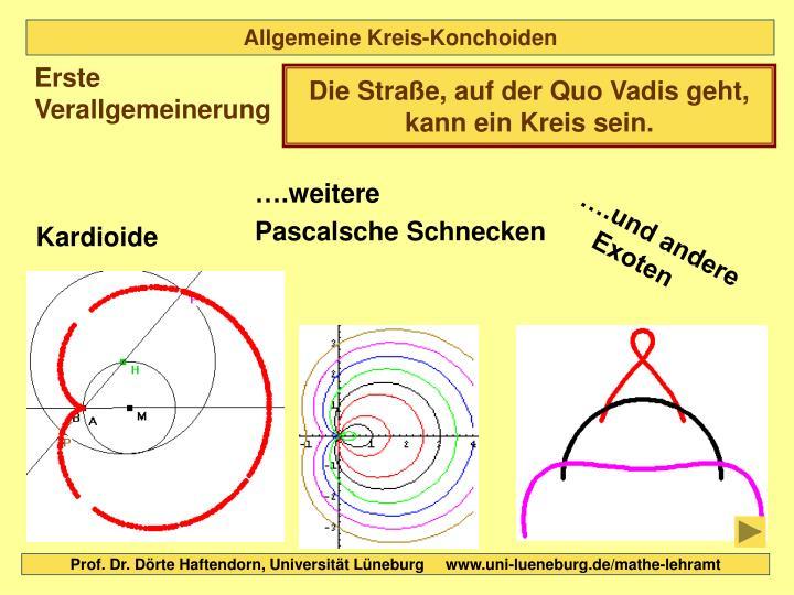 Allgemeine Kreis-Konchoiden