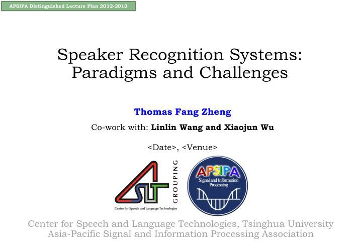 Thomas fang zheng co work with linlin wang and xiaojun wu date venue