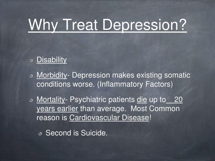 Why Treat Depression?