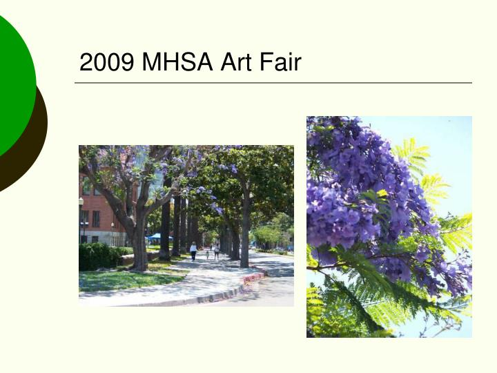 2009 MHSA Art Fair
