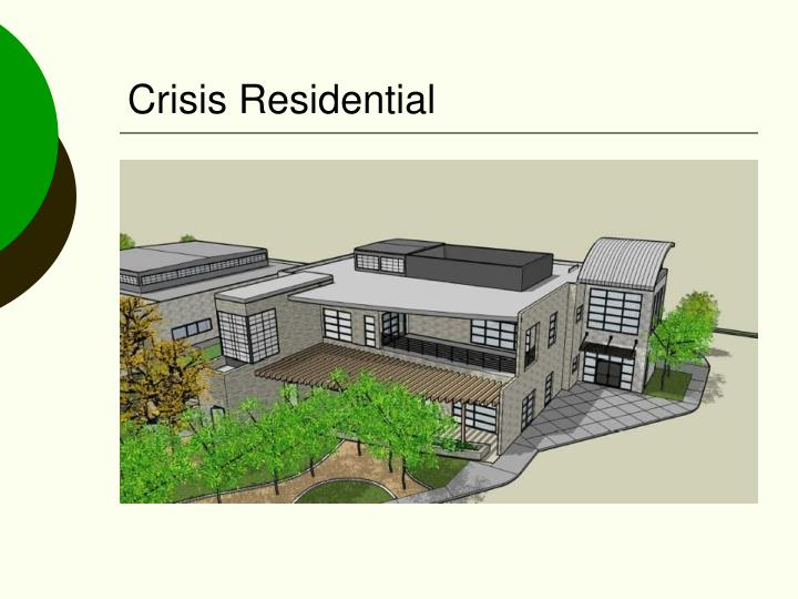 Crisis Residential
