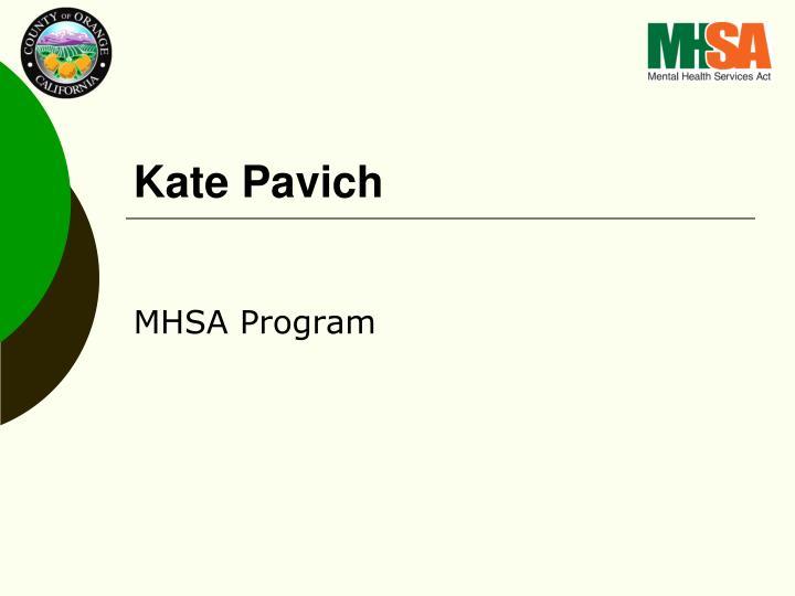 Kate Pavich