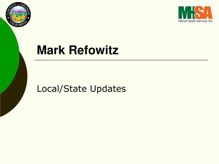 Mark Refowitz