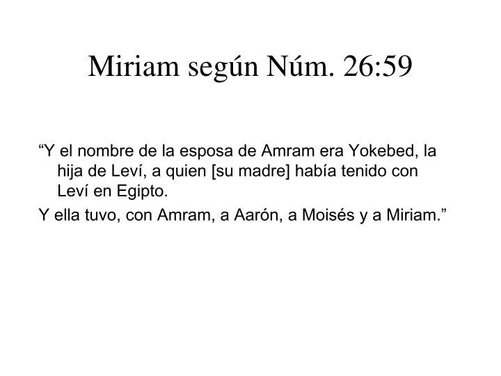 Miriam seg n n m 26 59