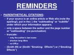 reminders5