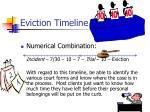 eviction timeline