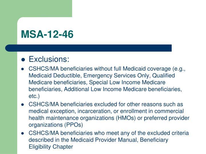 MSA-12-46