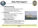 daily fleet support