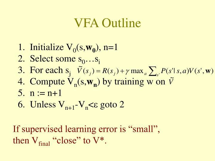VFA Outline