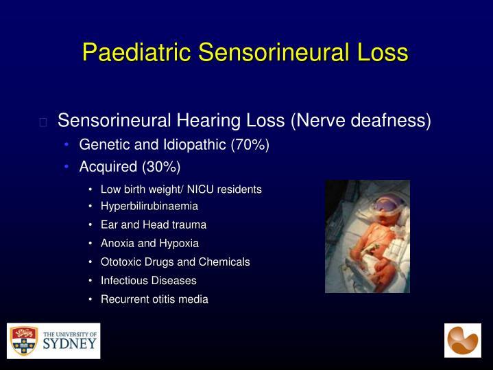 Paediatric Sensorineural Loss