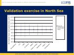 validation exercise in north sea2