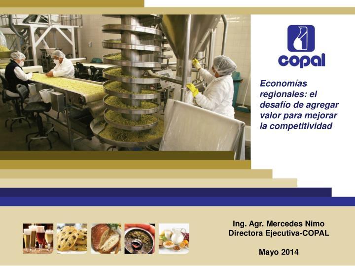 Economías regionales: el desafío de agregar valor para mejorar la competitividad