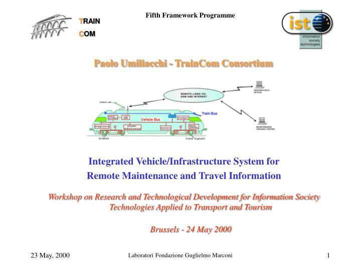 Paolo umiliacchi traincom consortium