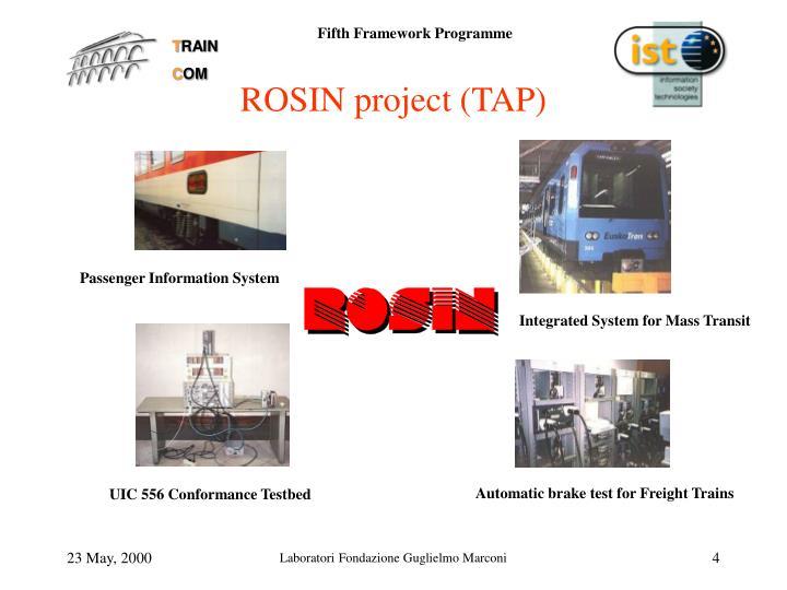 ROSIN project (TAP)