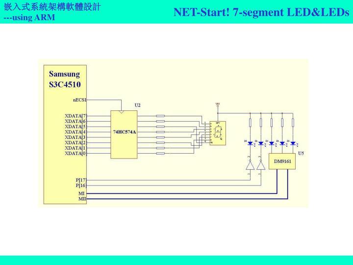 NET-Start! 7-segment LED&LEDs