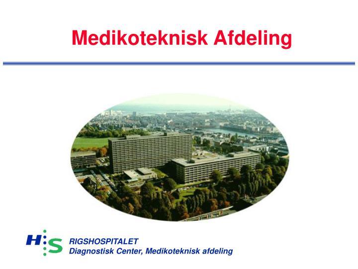 medikoteknisk afdeling