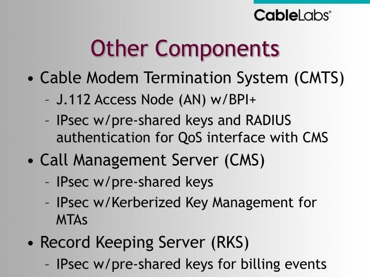 Other Components