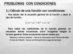 problemas con condiciones1