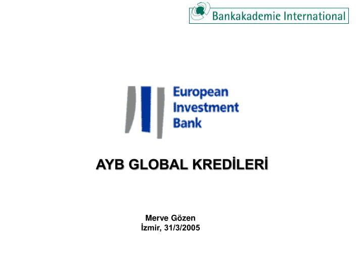 ayb global kred ler