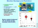monitor background radiation