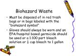 biohazard waste