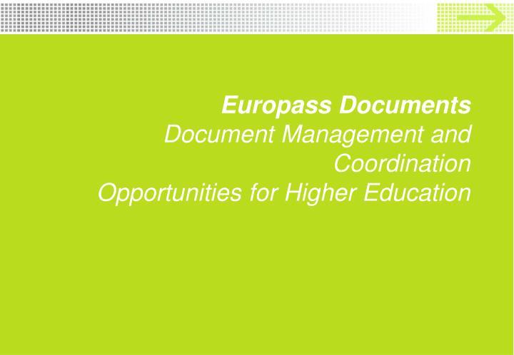 Europass Documents