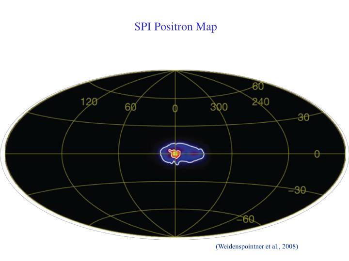 SPI Positron Map
