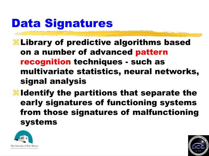 Data Signatures