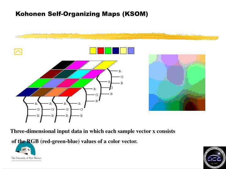 Kohonen Self-Organizing Maps (KSOM)