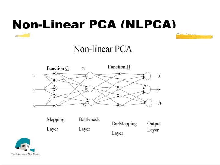 Non-Linear PCA (NLPCA)