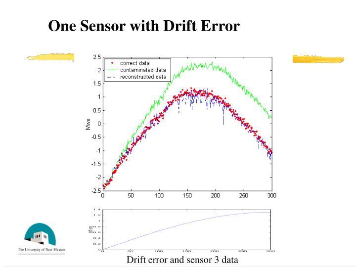 One Sensor with Drift Error