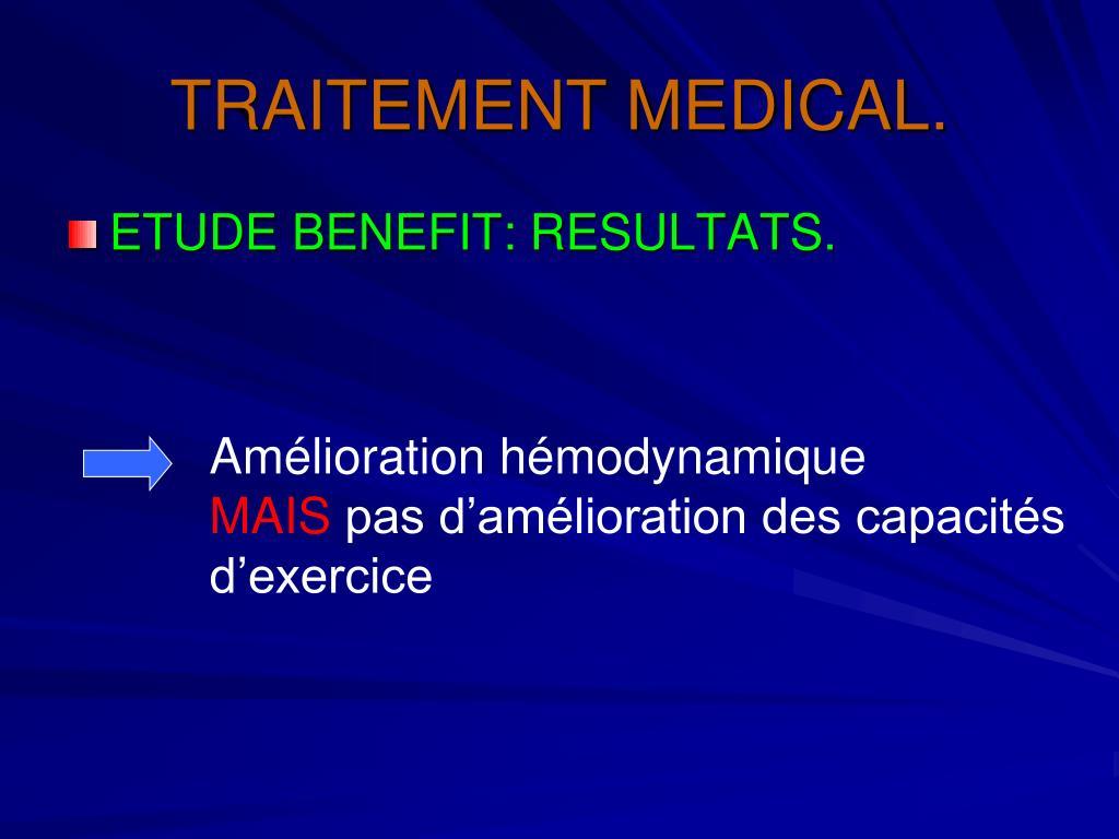 PPT - HYPERTENSION ARTERIELLE PULMONAIRE POST-EMBOLIQUE..