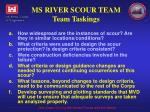 ms river scour team team taskings1