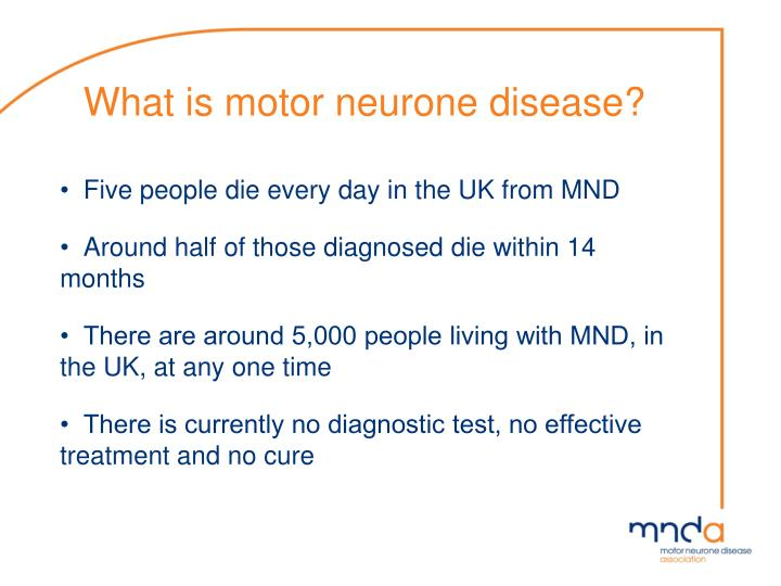 What is motor neurone disease1