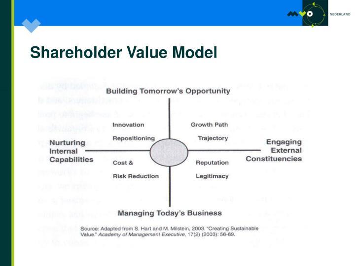 Shareholder Value Model