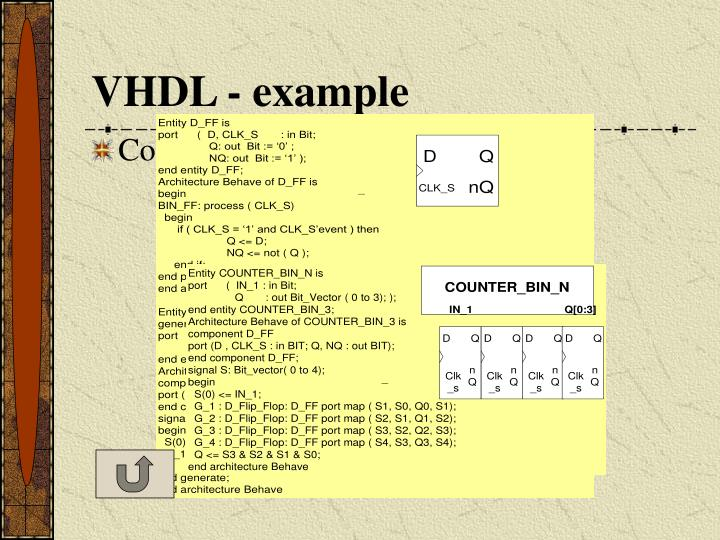 VHDL - example