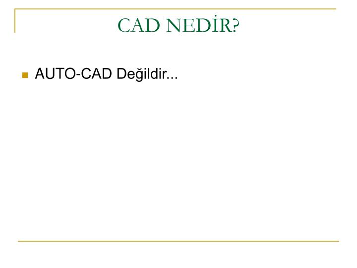 Cad ned r