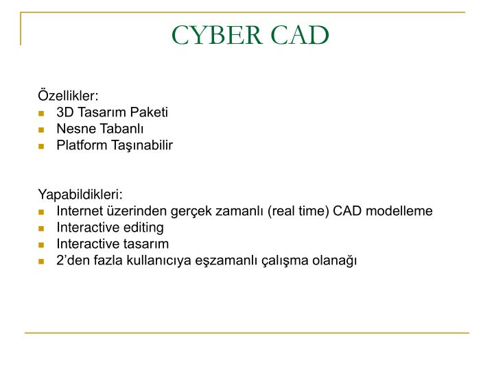 CYBER CAD