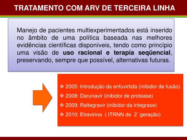 TRATAMENTO COM ARV DE TERCEIRA LINHA